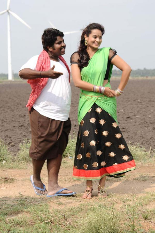 Appuchi Gramam Song Making Stills
