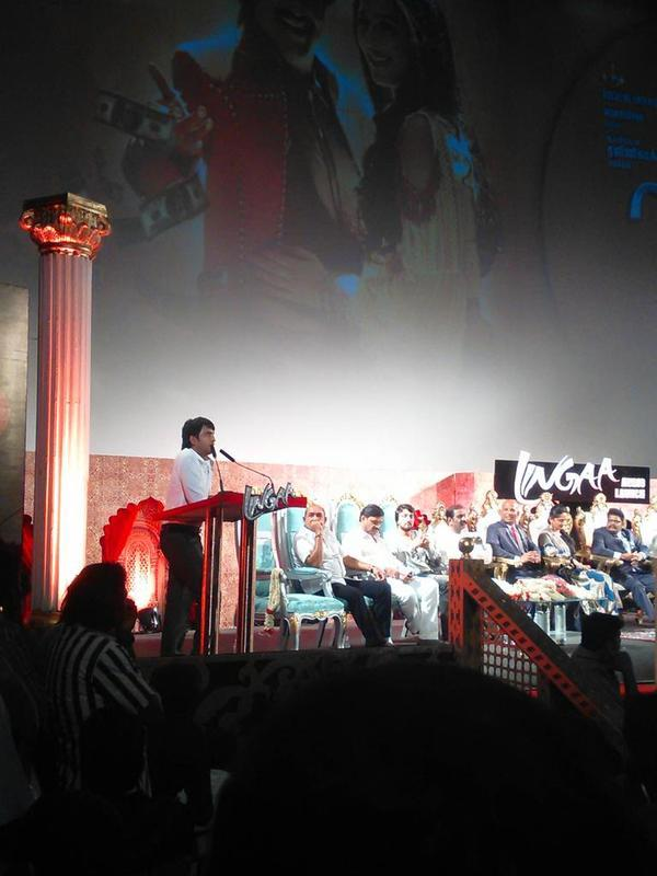 Actor Santhanam Speech in Lingaa Audio Launch