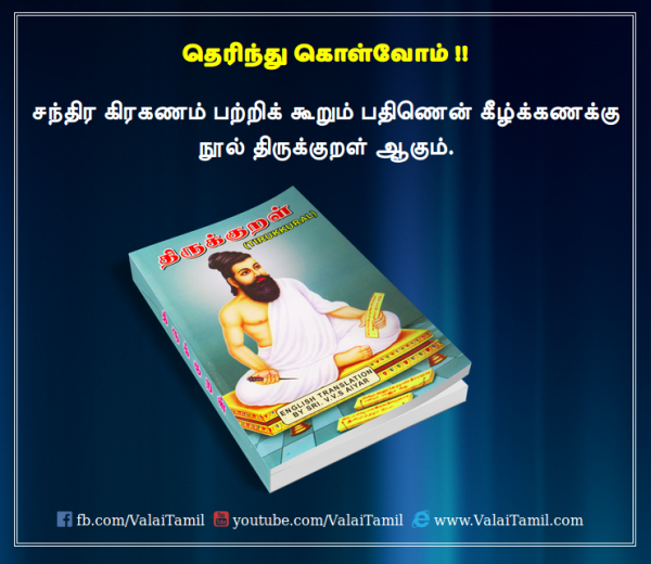 Thirukkural - Chandra Grahanam
