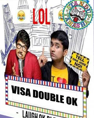 Visa Double Ok (Evam Standup Comedy) - USA