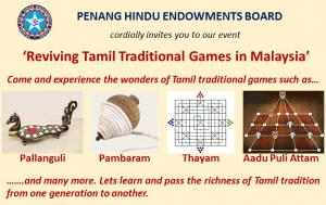 Reviving Tamil Traditional Games in Malaysia